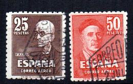 Serie  Nº 1015/6  España - 1931-50 Usados