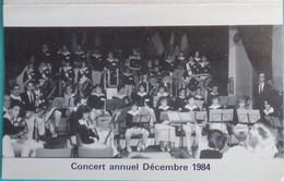 Petit Calendrier De Poche 1985 Harmonie Batterie Ecole De Musique Amicale De Villabé Essonne - Kleinformat : 1981-90