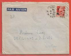 ALGERIE LETTRE DE 1944 DE ALGER POUR DAKAR SENEGAL - Lettres & Documents