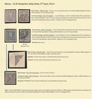 Macau Macao King Carlos 3a & Overprints. MH & Used. No Gum - Unused Stamps