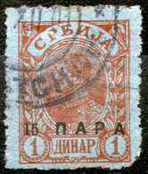Serbia,1900,15 Para/1 Din Used,see Scan - Serbia