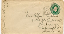 1929 Cover 2c From Lennoxville To Auckland - 1903-1954 Reyes