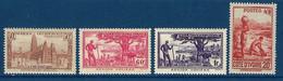 """Cote Ivoire YT 171 à 174 """" Série Sans RF """" 1944 Neuf** - Neufs"""