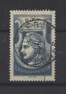 FRANCE.  YT   Radiodiffusion N° 1  Obl  1935 - Radiodiffusion