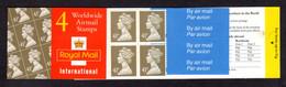 GRANDE-BRETAGNE 1995 - Carnet Yvert C1717-2 - SG GN2 - NEUF** MNH - £1.64 Barcode Booklet - Carnets