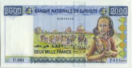 Djibouti 2000 Francs (P40) -UNC- - Djibouti