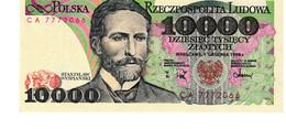 Poland P.151b 10000 Zlotych 1988 Unc - Poland