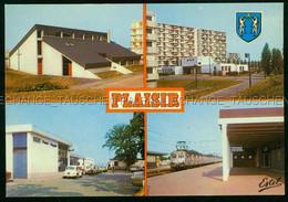Plaisir Les Clayes Grignon La Gare Train VW Coccinelle Residence Brigitte Relais Paroissial Saint Jean Baptiste 78 Yveli - Plaisir