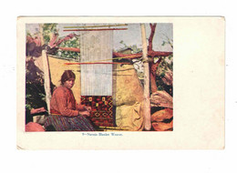 "USA, Indian, Woman ""Navajo Blanket Weaver"", Pre-1915 Postcard - America"