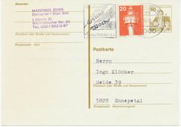 BERLIN Internationale Grüne Woche 1980 Werbestempel Auf 30 Pf GA Mit Zusatzfrankatur, TOP-Erhaltung - Postales - Usados