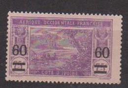 COTE D'IVOIRE             N° YVERT  :  59   NEUF AVEC CHARNIERES         ( C H     3 / 66 ) - Neufs