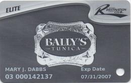 Bally's Tunica (1 Casino - Resorts International) - Casino Cards