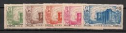 Guadeloupe - 1939 - N°Yv. 142 à 146 - Révolution - Série Complète - Neuf Luxe ** / MNH / Postfrisch - Neufs