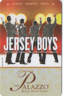 Palazzo Resort Hotel Casino Las Vegas : Jersey Boys Show - Cartas De Hotels