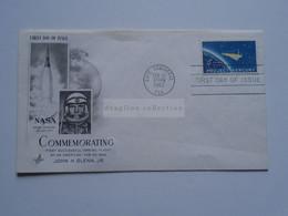 AV668.24    USA  Cover - 1962  Cape Canaveral  FLA  - Commemorating  First Successful Orbital Flight -John H. Glenn Jr. - Cartas