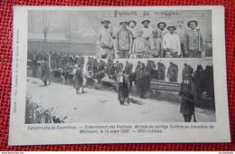 COURRIERES Catastrophe  -  Enterrement Des Victimes - Arrivée Du Cortège Funèbre Au Cimetière De Méricourt En 1906 - Otros Municipios