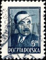 POLOGNE / POLAND 1950 GROSZY O/P T.3 (Katowice/Krakow Kt/Kr1c Black) Mi.624 Used - Used Stamps