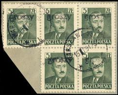 POLOGNE / POLAND 1950 GROSZY O/P T25 (Warsaw Ww3 Black) Mi.650 Used WARSZAWA-SEJM - Used Stamps