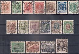 Russia 1913, Michel Nr 82-98, Used - Gebraucht