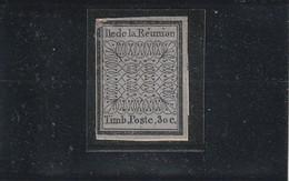 Réunion N° 2b Réimpression - Unused Stamps