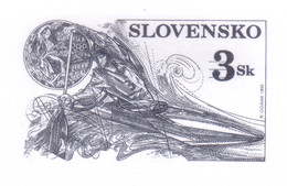 SLOVAKIA 1996 Achievements Of Slovak Sportsmen At The 1996 Olympic Games Engraved Proof (numbered) - Nuevos