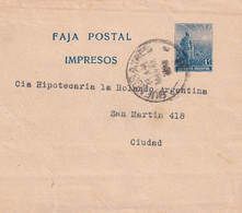 ARGENTINE      ENTIER POSTAL/GANZSACHE/POSTAL STATIONARY  BANDE JOURNAL DE BUENOS AIRES - Entiers Postaux