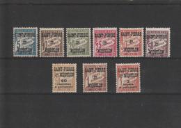 Saint Pierre Et Miquelon Lot De Taxes - Used Stamps