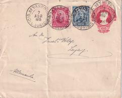 BRESIL 1919      ENTIER POSTAL/GANZSACHE/POSTAL STATIONARY  LETTRE DE VASSOURAS - Enteros Postales