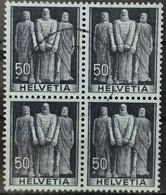 1941 Bundesschwur Viererblock MiNr: 377 - Used Stamps
