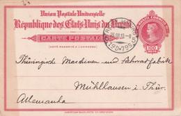 BRESIL 1910    ENTIER POSTAL/GANZSACHE/POSTAL STATIONARY  CARTR DE RIO DE JANEIRO - Enteros Postales