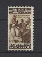 VATICAN.  YT  N° 70  Neuf **  1935 - Unused Stamps