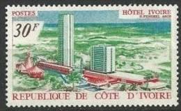 "Cote Ivoire YT 285 "" Hôtel Ivoire "" 1969 Neuf** - Ivory Coast (1960-...)"