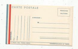 Carte Postale Militaire  , Franchise Militaire , Vierge , Ed. A. Breger - Cartes De Franchise Militaire