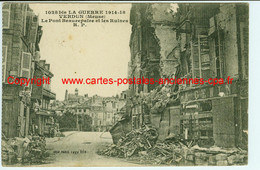 55 Verdun Le Pont Beaurepaire Pharmacie Tabac A. GENIN 1266 - Verdun