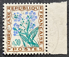France YTYX099-Timbres Taxe Fleurs Des Champs 30 C Used Stamp 1964-71- FRAYX099U2 - Fiscaux