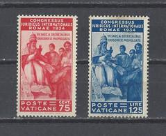 VATICAN.  YT  N° 69-71  Neuf **/sans Gomme  1935 - Unused Stamps