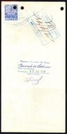 """Bolivia 1978 Letra $b50.-.""""EDVIL"""" Edit Offset. H&A #130 $b10.- O. Millán Ltda. - Bolivia"""