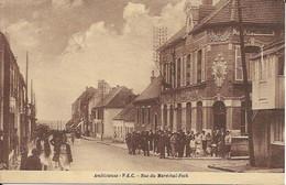 Ambleteuse  Rue Du Marechal Foch Carte En Bon état - Autres Communes