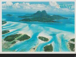 TAHITI PANORAMICa -viaggiata NO 19999-fG-mt 8949 - Polynésie Française