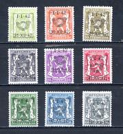 BE  PRE475 - 483   ---   Surcharge D  --  XX / X  --  Tous XX Sauf Faible Trace Sur 483  --  Etat Parfait... - Typo Precancels 1936-51 (Small Seal Of The State)