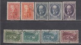 Bulgaria 1921 - James Bouchier, YT 164/72, Used - Oblitérés