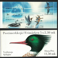 1993 Finlande - Carnet Timbres Oiseaux D'eau SG Sb40 - Ref 6416982000053 - Nuevos