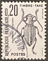 France YTYX104-Timbres Taxe Insectes Coléoptères (I) 20 C Used Stamp 1982 - FRAYX104U - Fiscaux