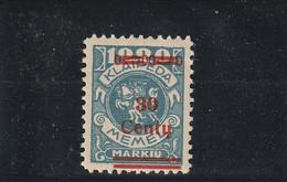 Memel (klaipéda) N° 208* - Unused Stamps