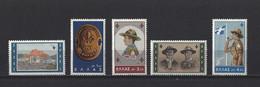 Grèce: 794/798 ** - Unused Stamps