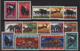 Ruanda Urundi - N°205 à 216 - Faune Sauvage - Cote 6.50€ - ** Neuf Sans Charniere - 1948-61: Neufs