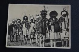 CARTOLINA AFRICA ORIENTALE VESTITI TRIBU TRIBUNALE DEL BUON VG 1939 ERITREA - Altre Guerre