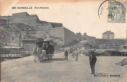 CPA MARSEILLE - Fort-Nicolas - Old Port, Saint Victor, Le Panier