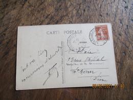 Neussargues A Rodez  Ambulant Convoyeur Poste Ferroviaire - Posta Ferroviaria