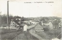 Zaventem Saventhem La Papeterie Vue Generale PUB Singer 1915 - Zaventem